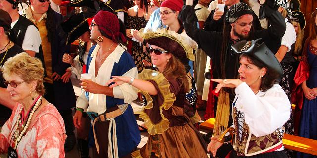 Pirate party groups marigalante